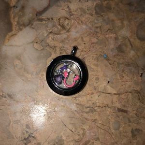 •origami owl pendant and charms